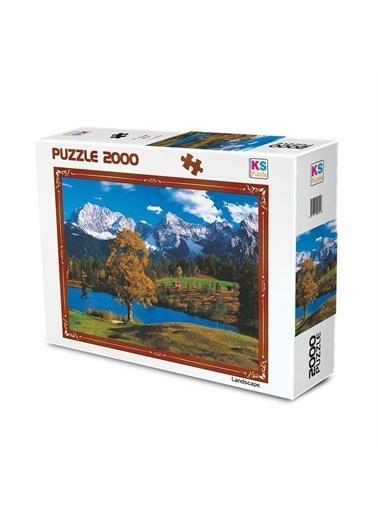 KS Puzzle KS Puzzle 11218 Bavyera Alpleri Temalı 2000 ParÇa Puzzle Renkli